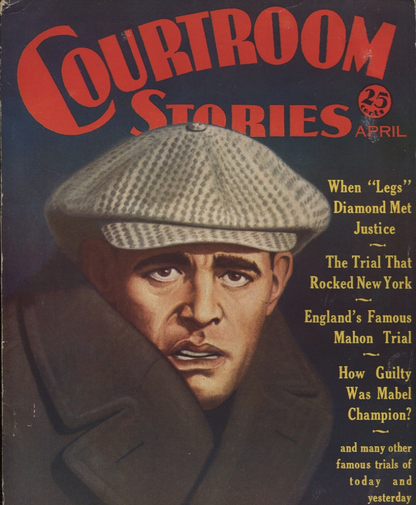 Image for Courtroom Stories April 1932.