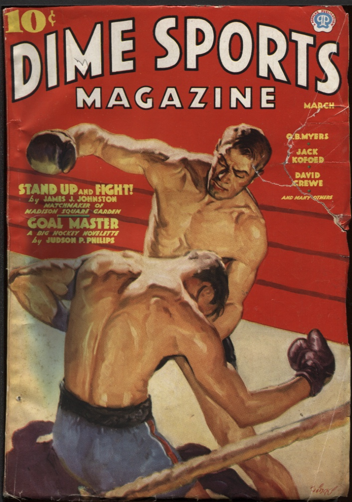 Image for Dime Sports 1937 March.