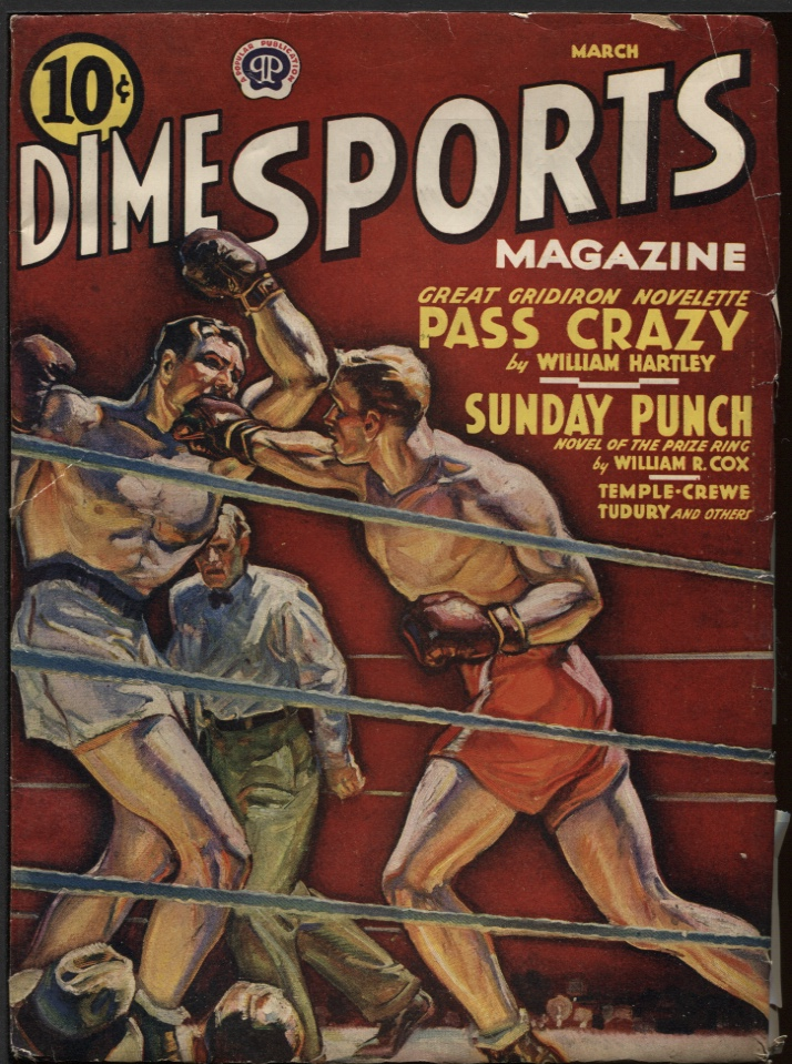 Image for Dime Sports 1940 March.