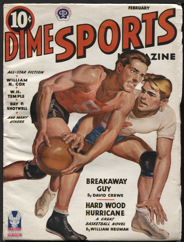 Image for Dime Sports 1944 February.