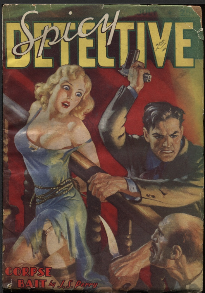 Image for Spicy Detective 1938 July.