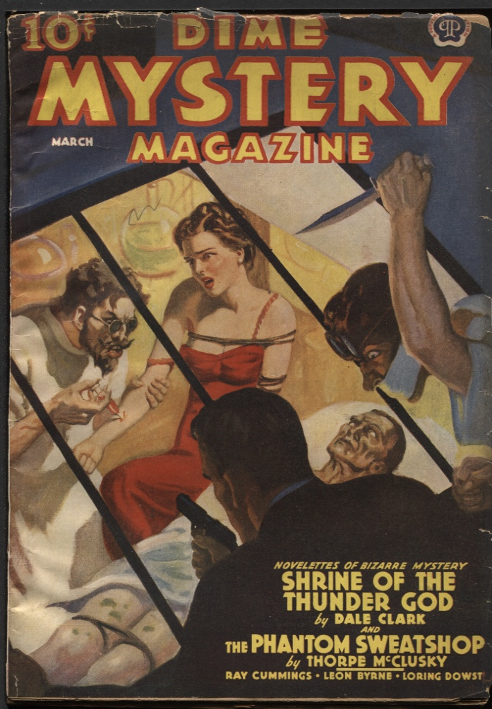Image for Dime Mystery Magazine, 1939 March.