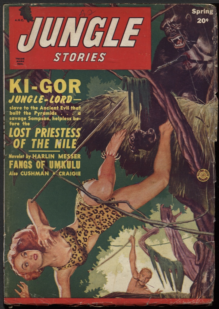 Image for Jungle Stories 1950 Spring.