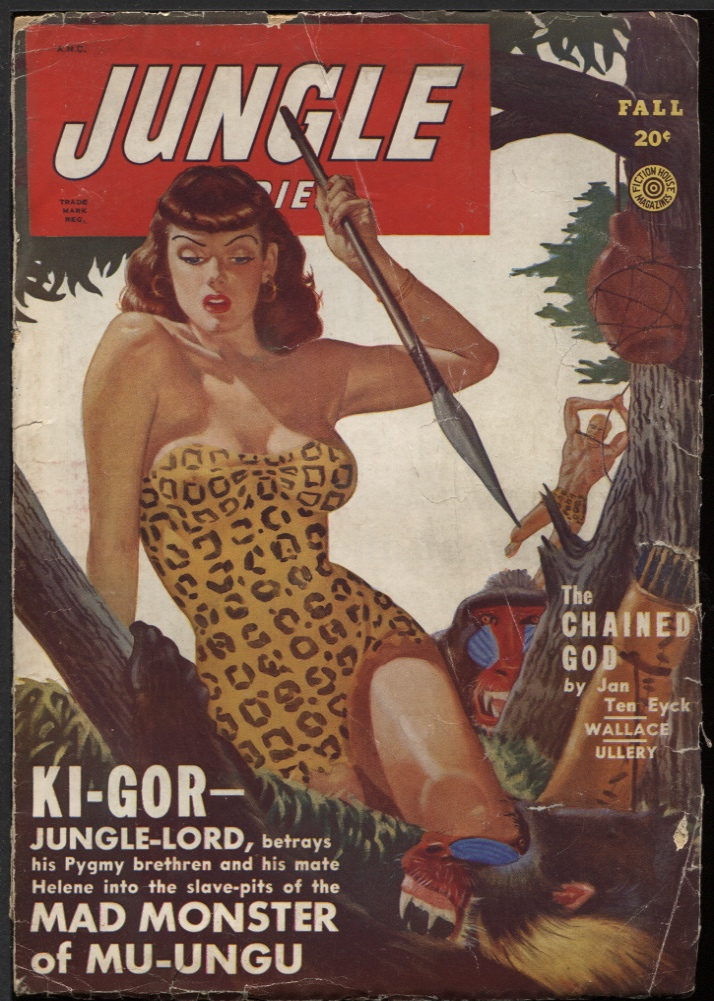 Image for Jungle Stories 1949 Fall.