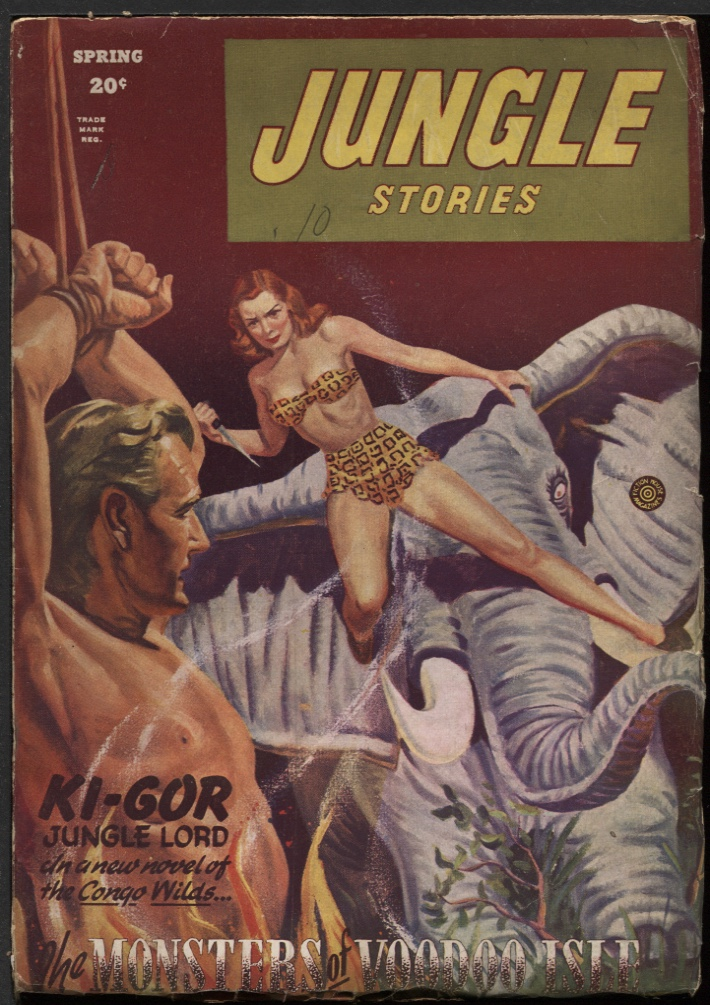 Image for Jungle Stories 1946 Spring.