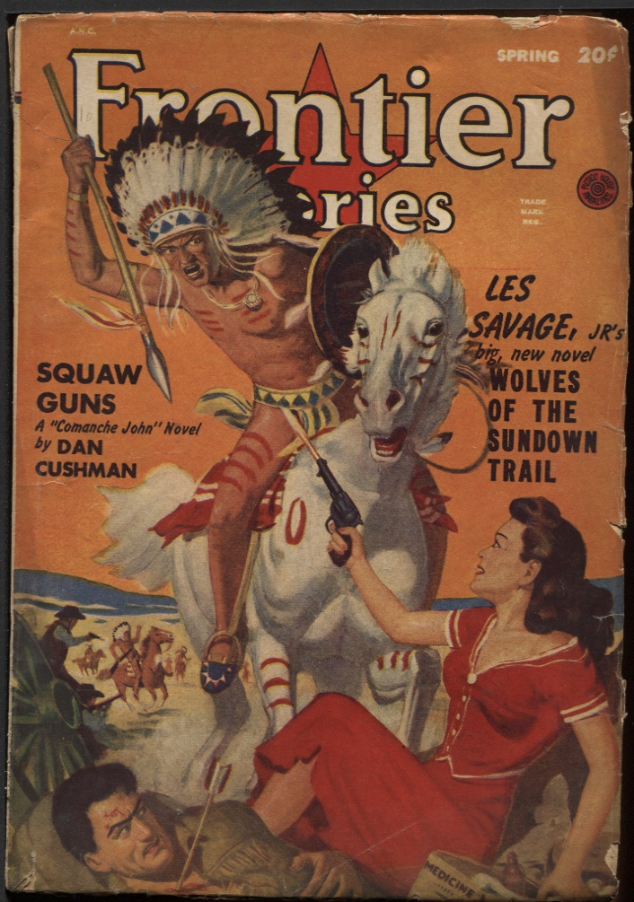 Image for Frontier Stories 1949 Spring.