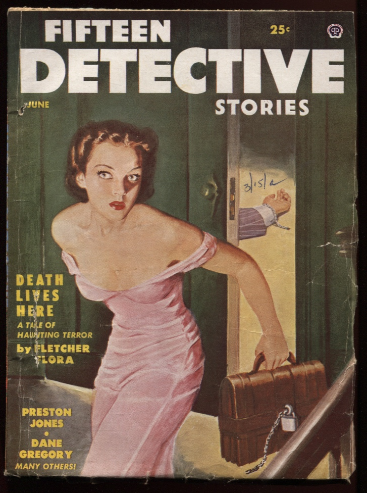 Image for Fifteen Detective Stories 1954 June