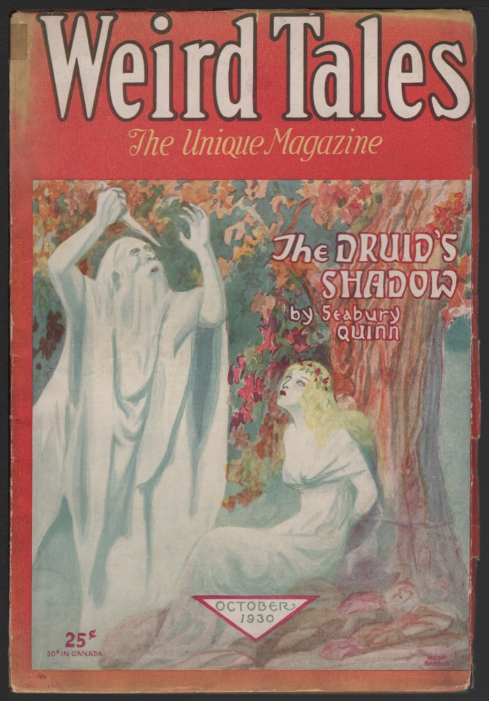 Image for Weird Tales 1930 October.
