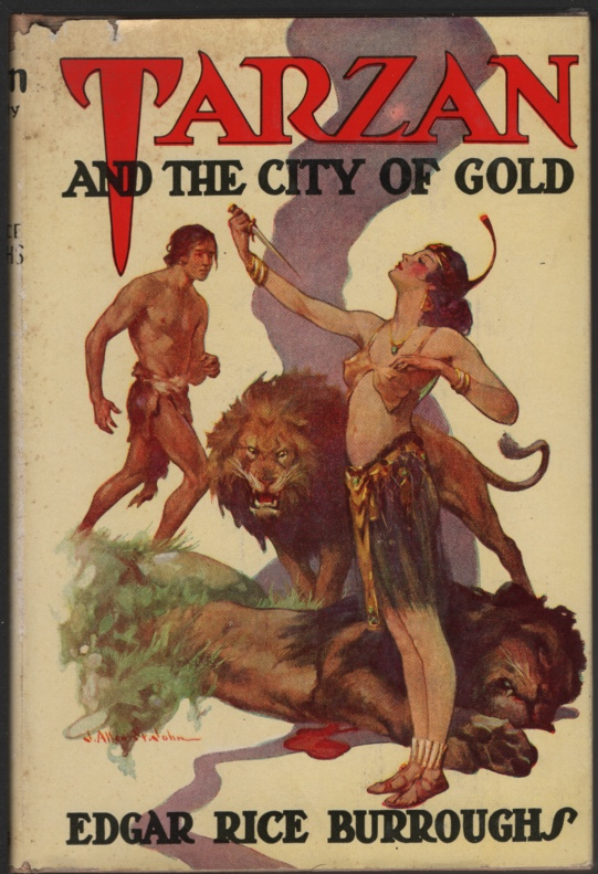 Image for Tarzan and the City of Gold
