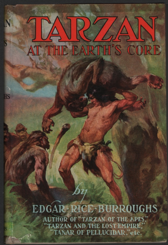 Image for Tarzan At the Earth's Core
