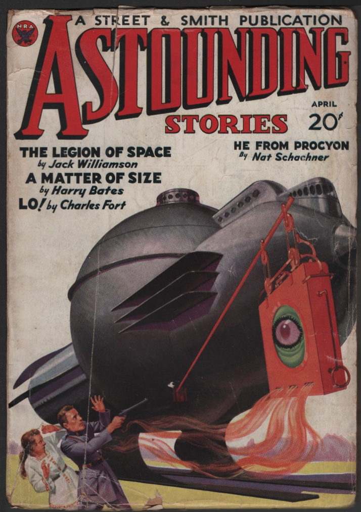 Image for Astounding Stories 1934 April. Legion of Space