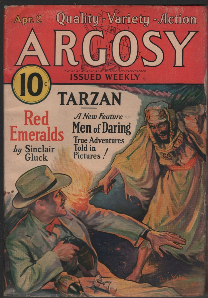 Image for Argosy Weekly 1932 April 2, Tarzan and the City of Gold