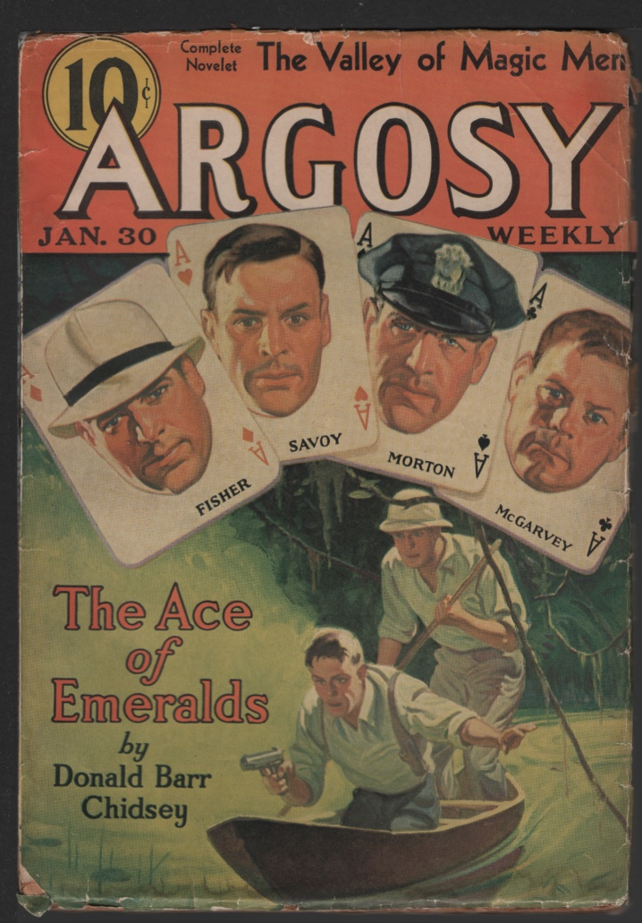 Image for Argosy Weekly 1937 January 30, Seven Worlds to Conquer.