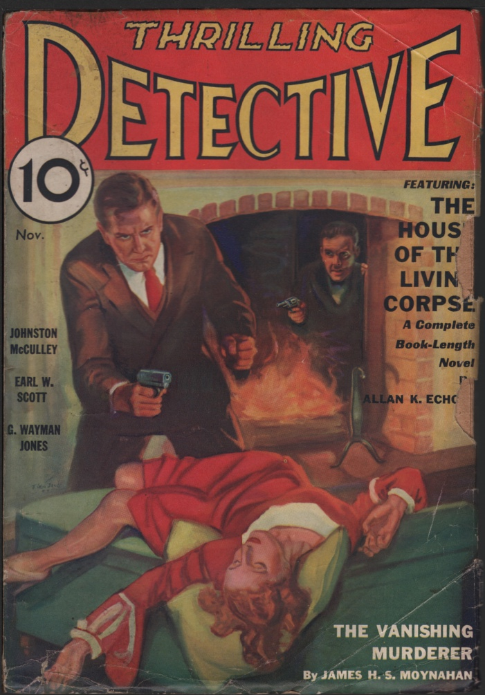 Image for Thrilling Detective 1933 November.