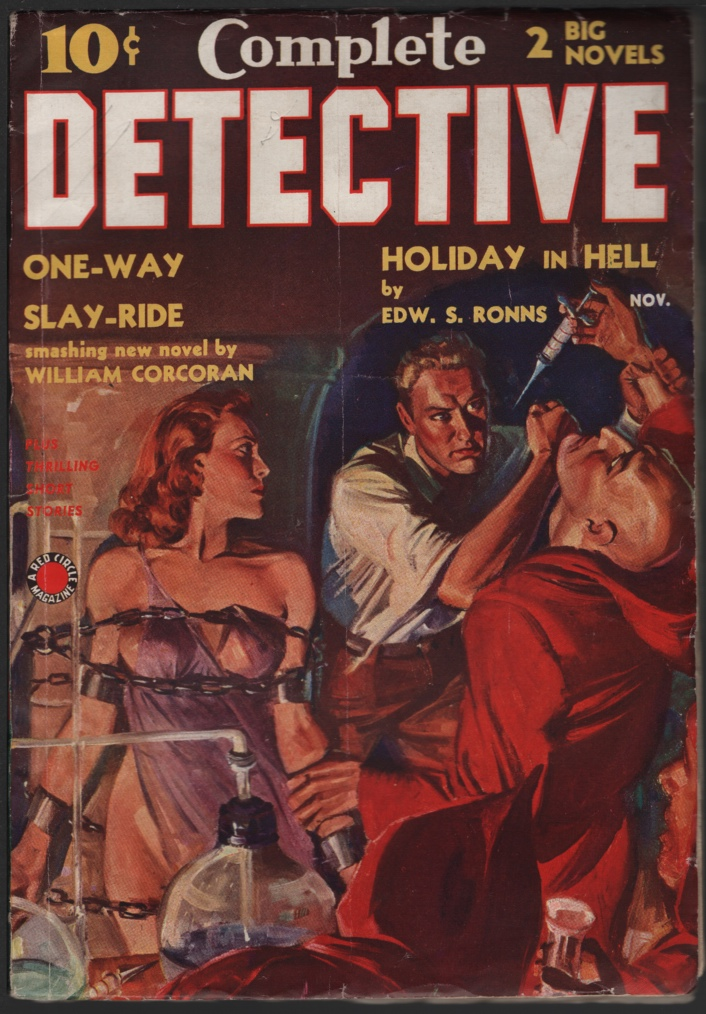 Image for Complete Detective 1938 November.