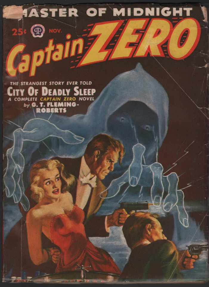 Image for Captain Zero 1949 November. #1.