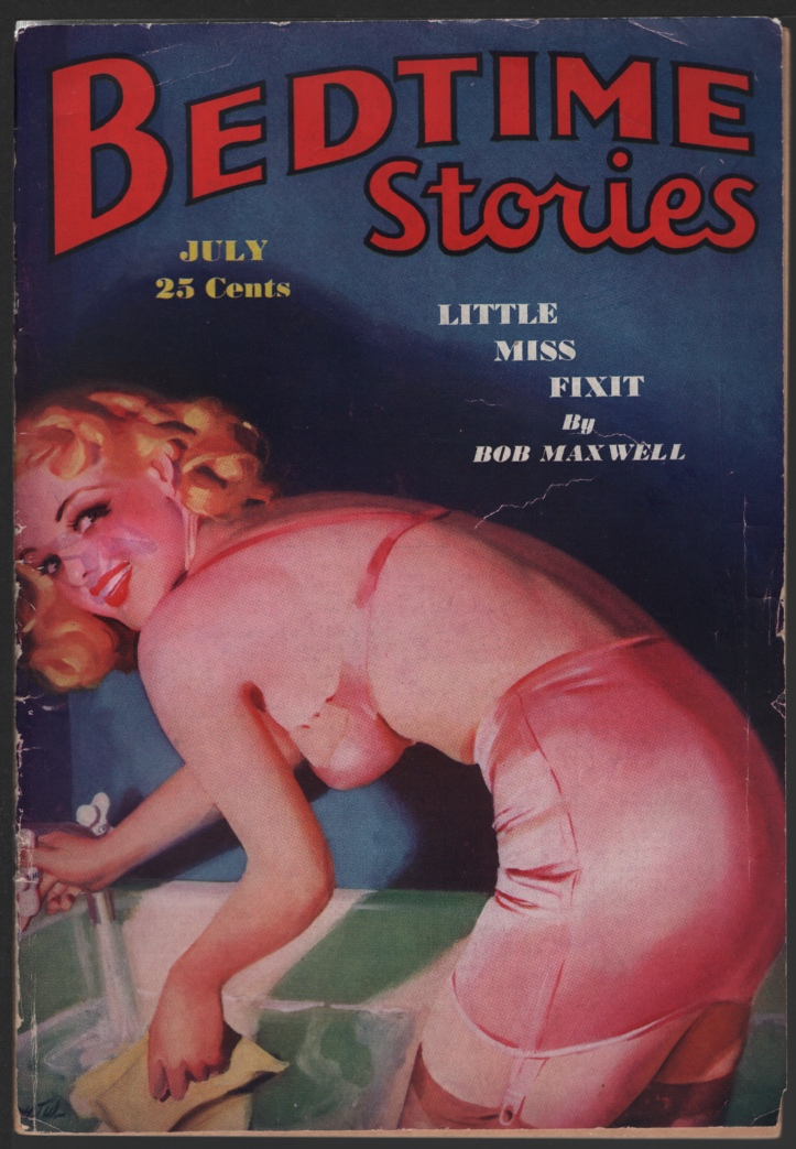 Image for Bedtime Stories 1937 July.