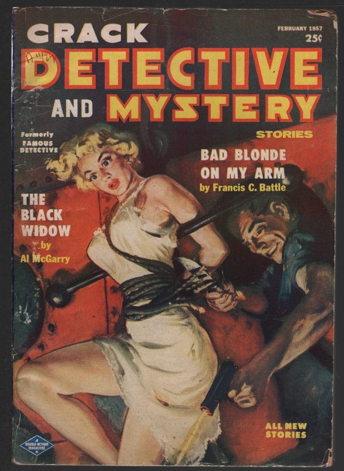 Image for Crack Detective 1957 February