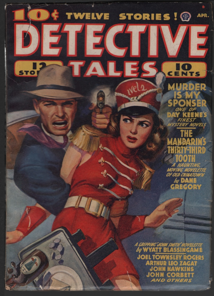 Image for Detective Tales 1942 April.