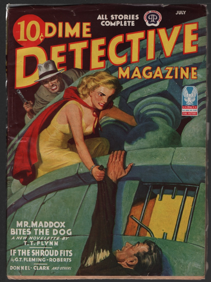 Image for Dime Detective 1943 July.