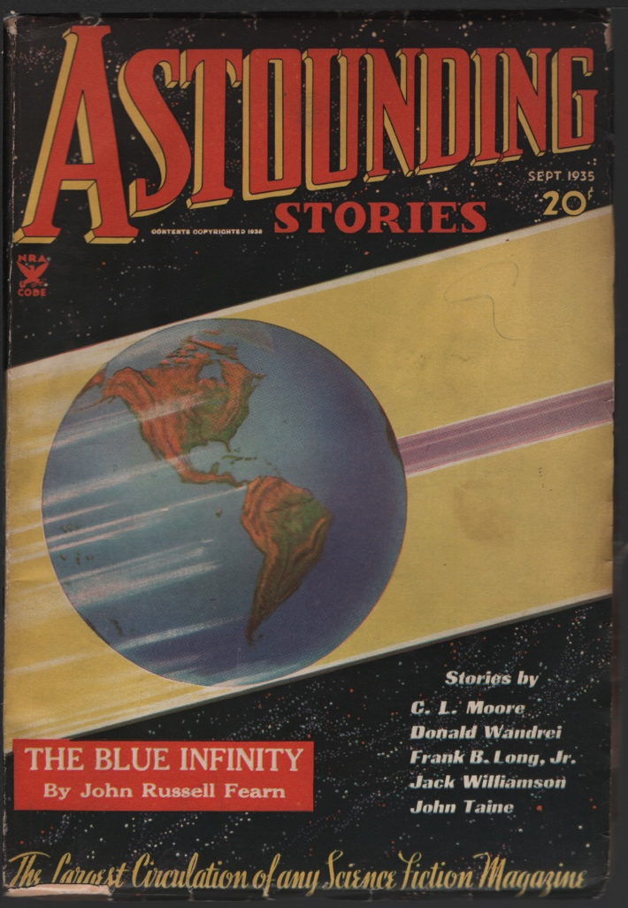 Image for Astounding Stories 1935 September.