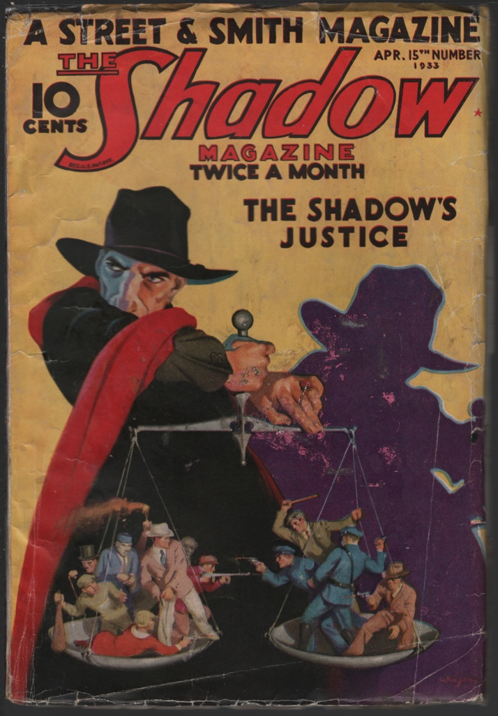 Image for Shadow, The. 1933 April 15. the Shadow's Justice.