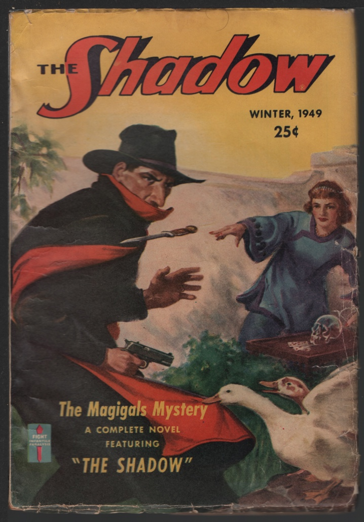 Image for Shadow, The. 1949 Winter. the Magigals.