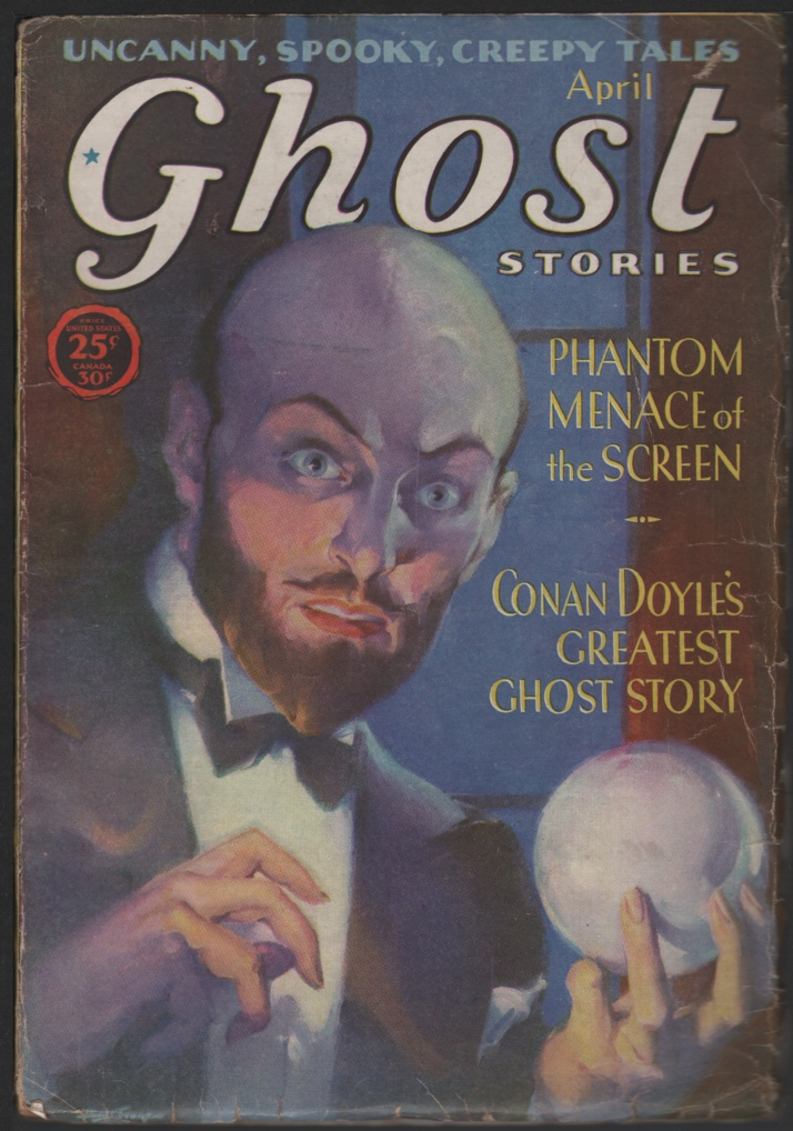 Image for Ghost Stories 1931 April.
