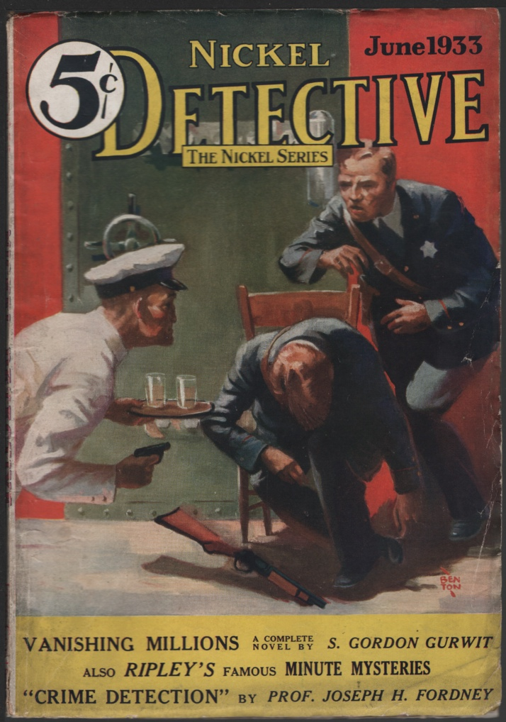 Image for Nickel Detective 1933 June, #5.