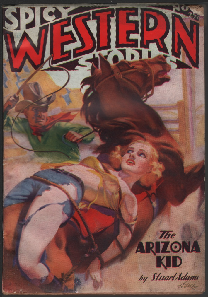Image for Spicy Western 1936 November, #1.