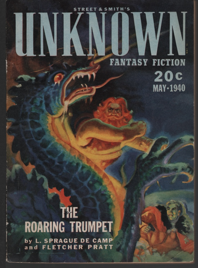Image for Unknown Fantasy Fiction May 1940. Reign of Wizardry.