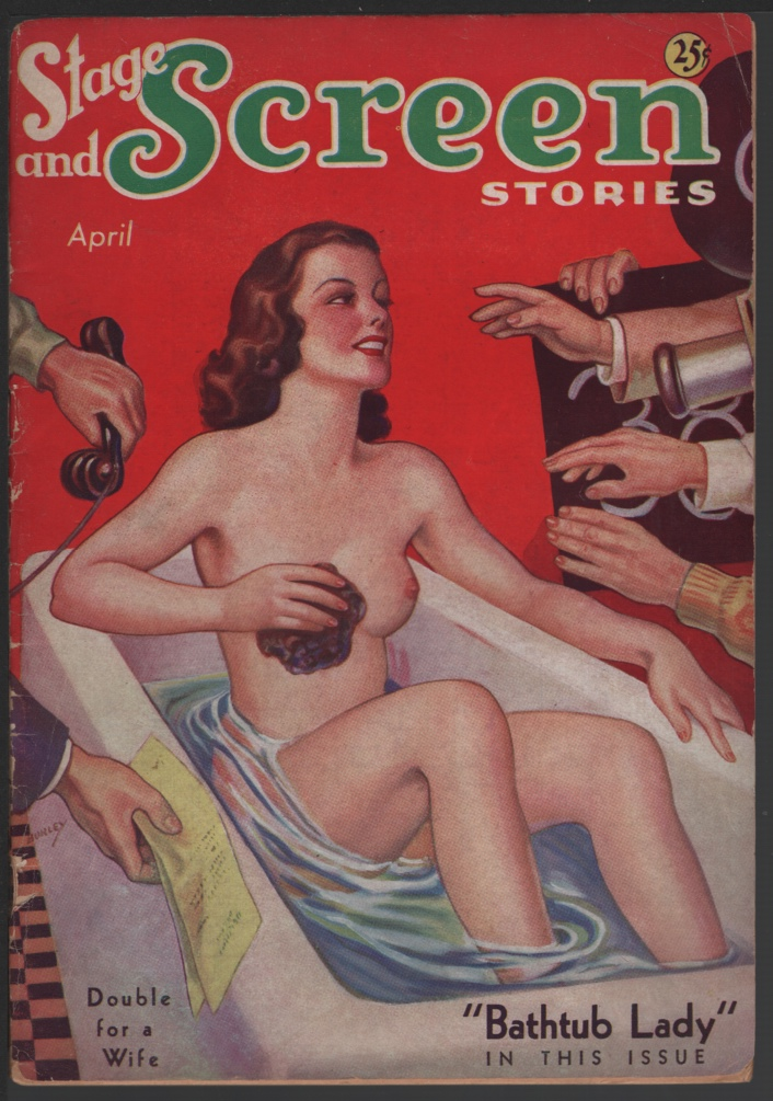 Image for Stage and Screen Stories 1936 April, #4.