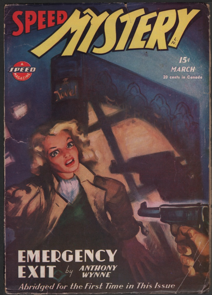 Image for Speed (Spicy) Mystery 1946 March.