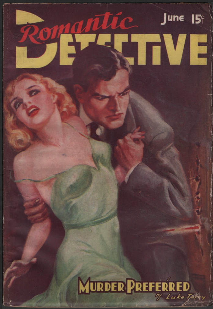 Image for Romantic Detective 1938 June, #3.