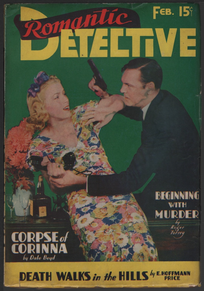 Image for Romantic Detective 1939 February, Final Issue.
