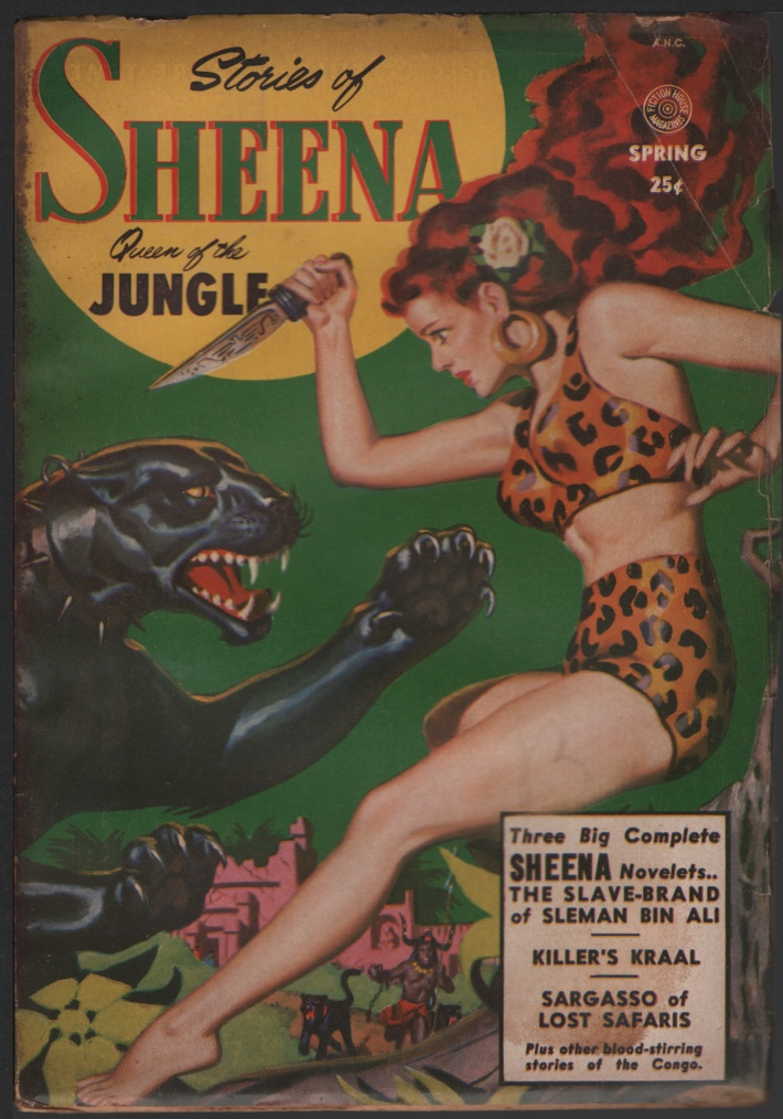 Image for Sheena Queen of the Jungle (Stories Of) 1951 Spring, #1
