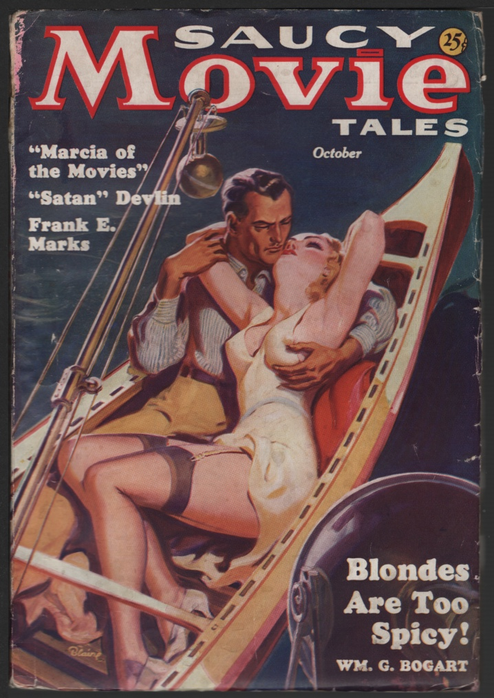 Image for Saucy Movie Tales 1936 October.