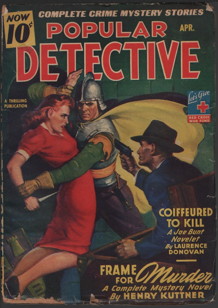 Image for Popular Detective 1944 April.