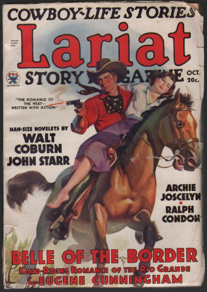 Image for Lariat Story Magazine 1935 October.