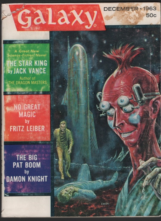 Image for Galaxy 1963 December. If There Where No Benny Cemoli