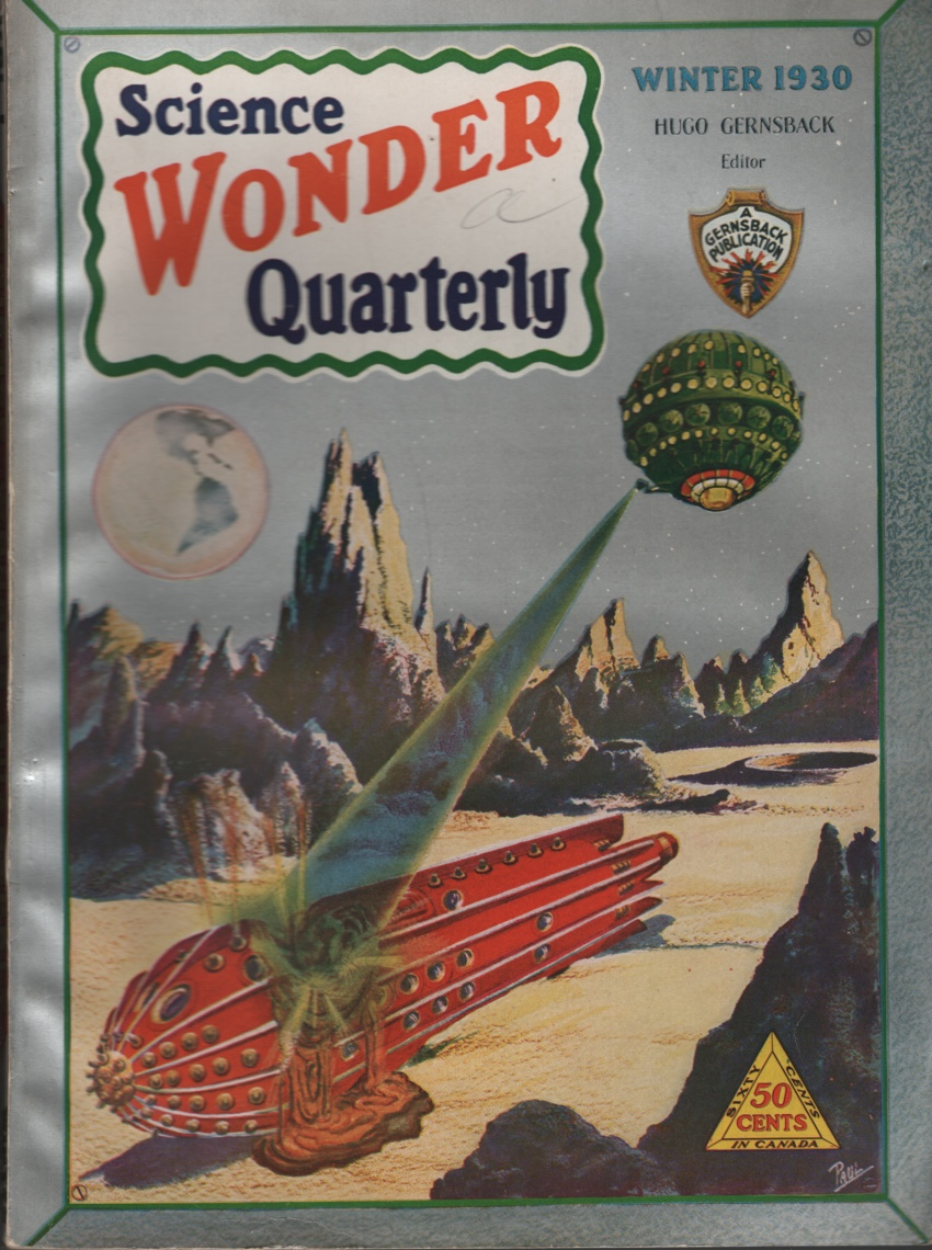 Image for Science Wonder Quarterly 1930 Winter, #2.