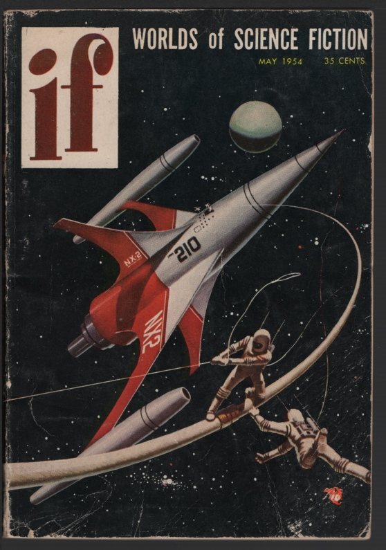 Image for If Worlds of Science Fiction 1954 May. Prominent Author