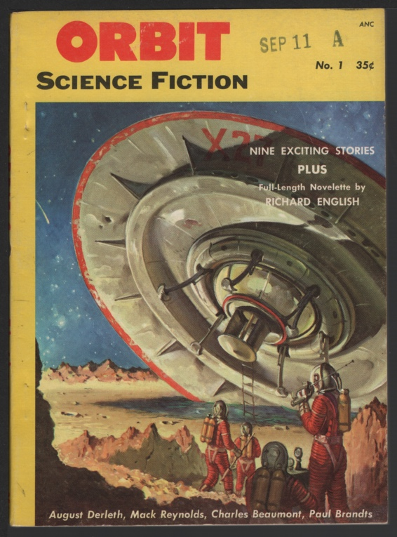 Image for Orbit Science Fiction 1953 Fall, #1. Flying Saucer Cover.