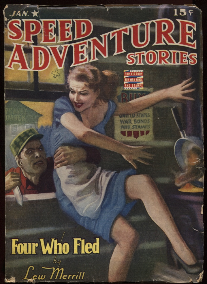 Image for Speed (Spicy) Adventure Stories 1943 Jan (#1)