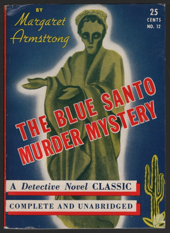 Image for The Blue Santo Murder Mystery