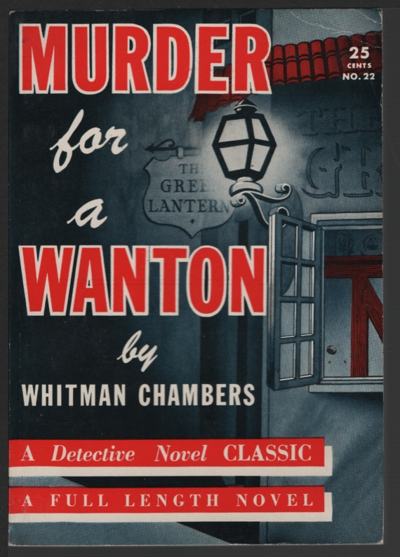Image for Murder for a Wanton
