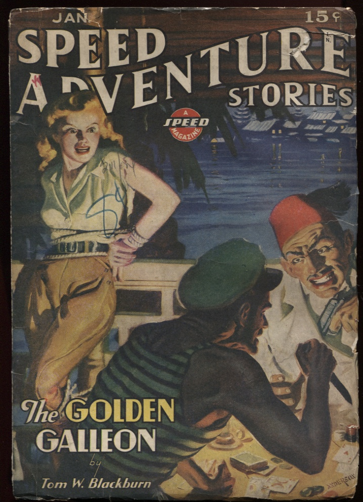 Image for Speed (Spicy) Adventure Stories 1944 Jan