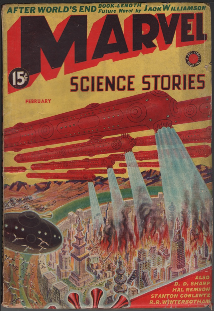 Image for Marvel Science Stories 1939 February, #3.