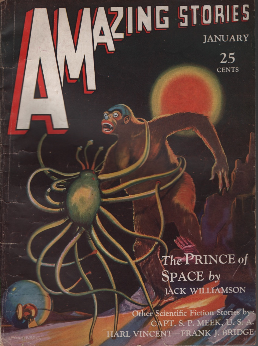 Image for Amazing Stories 1931 January. the Prince of Space