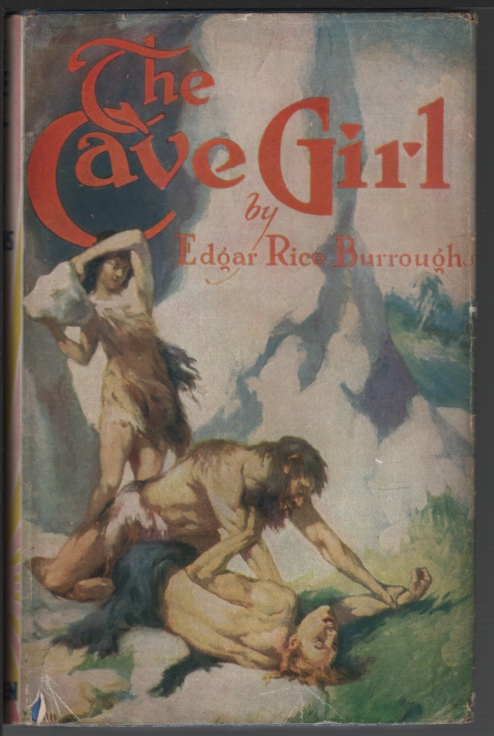 Image for The Cave Girl.